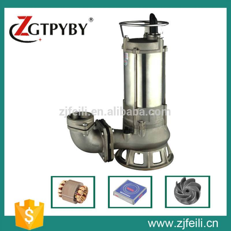 widely used stainless steel submersible dirty water pump for sale