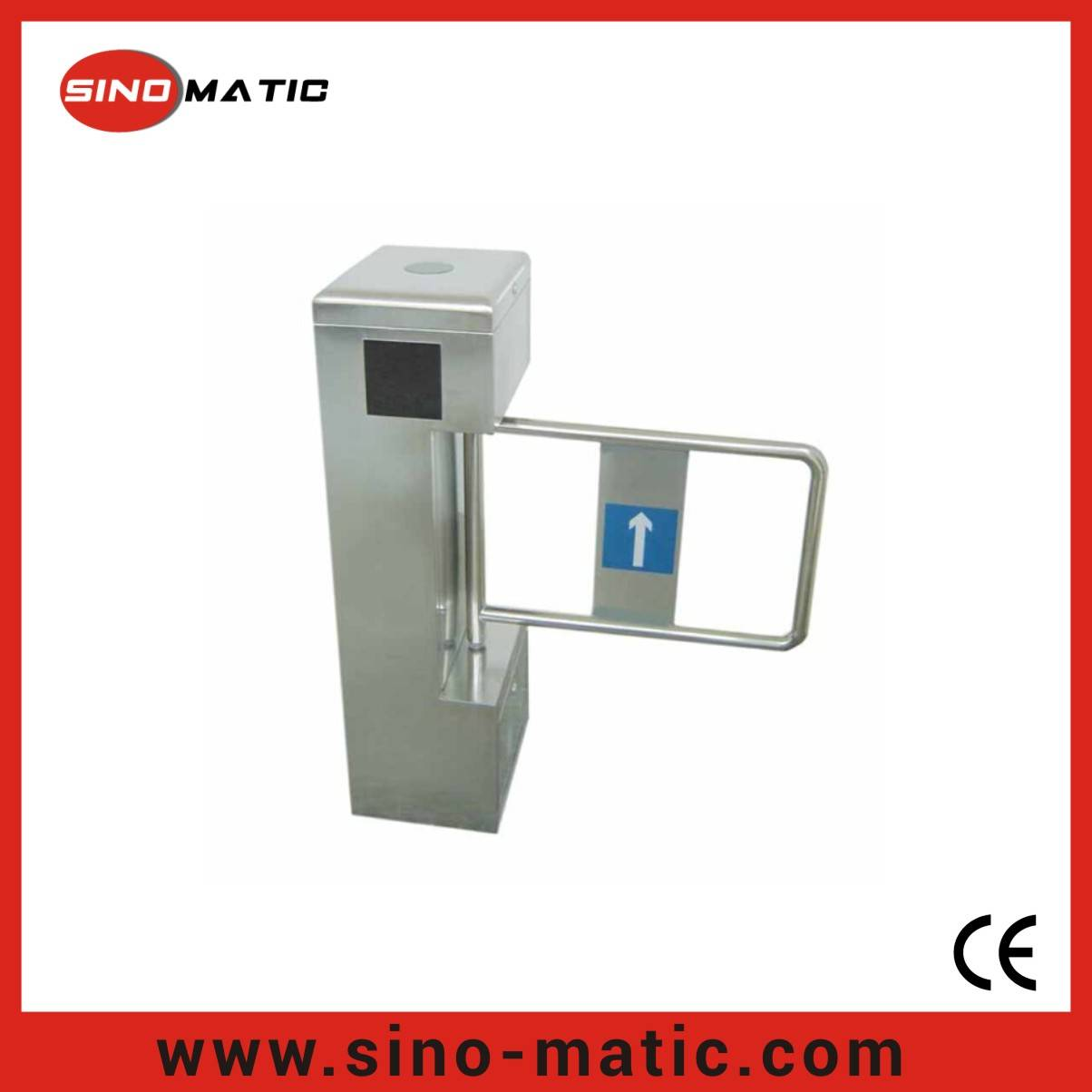 316 Stainless Steel China Factory Security Access Control System Swing Barrier