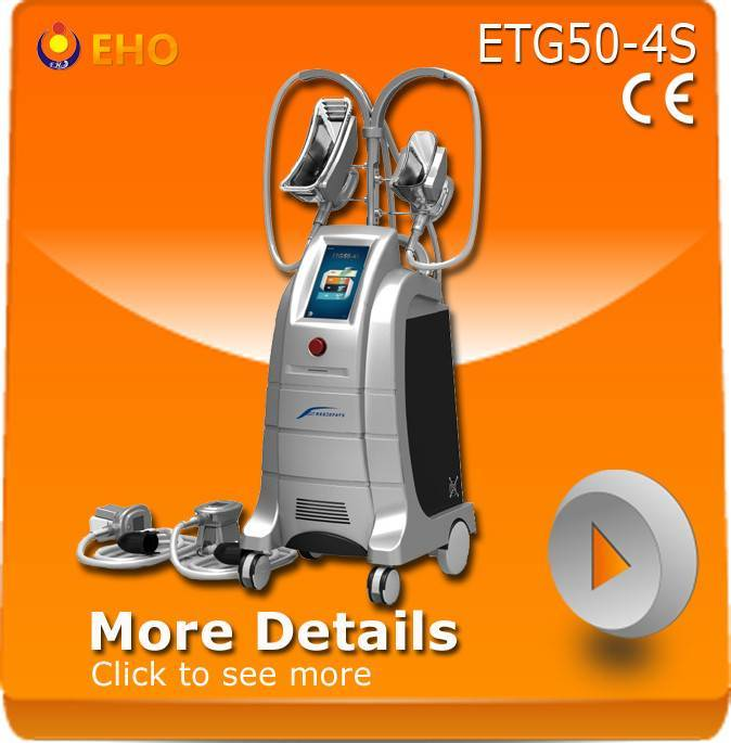 ETG50-4S 4 working heads Fat Freezing Equipment