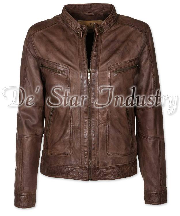 Men Fashion Leather Jackets