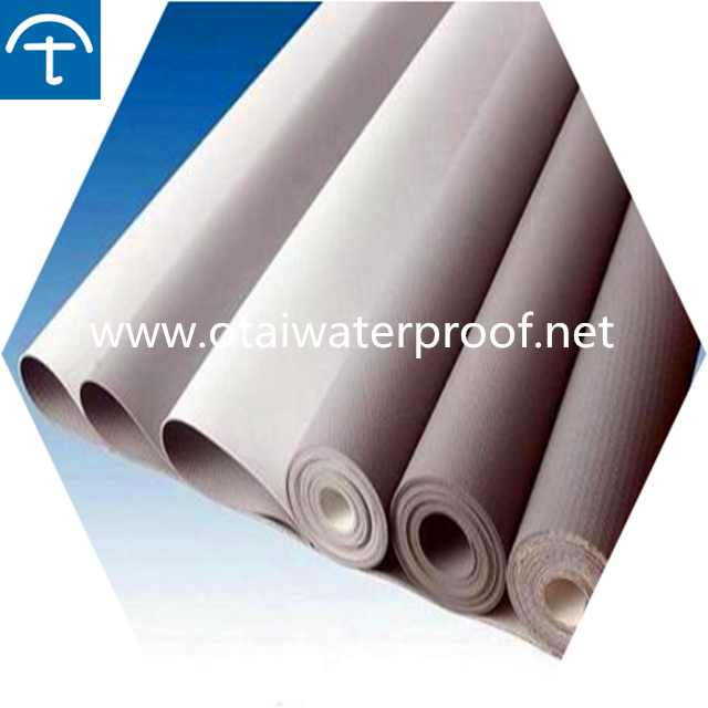 White color 60mil TPO roofing membrane for metal roof
