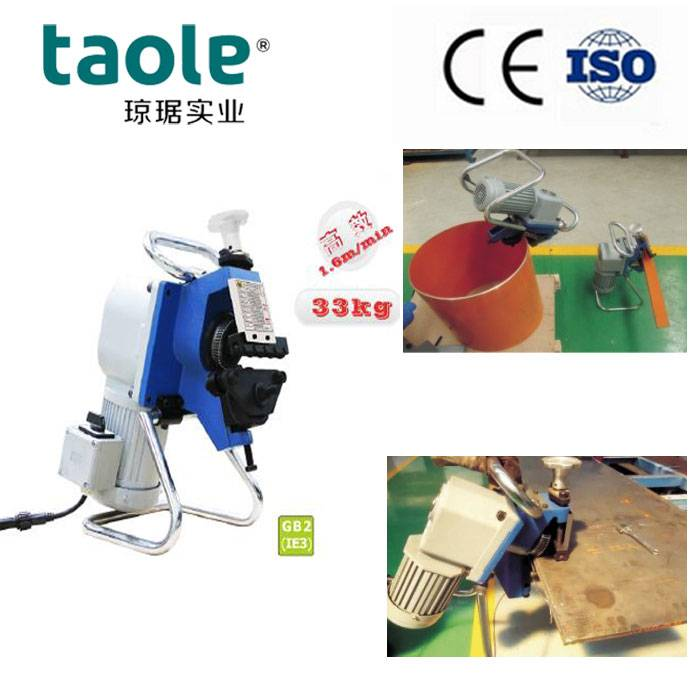 Metal Plate Edge Beveling Machines from China Supplier