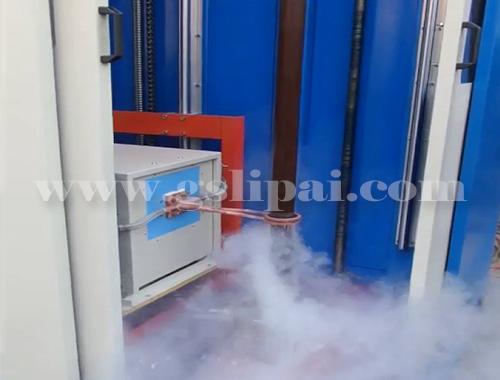 Portable Induction Heating Machine for Shaft Hardening