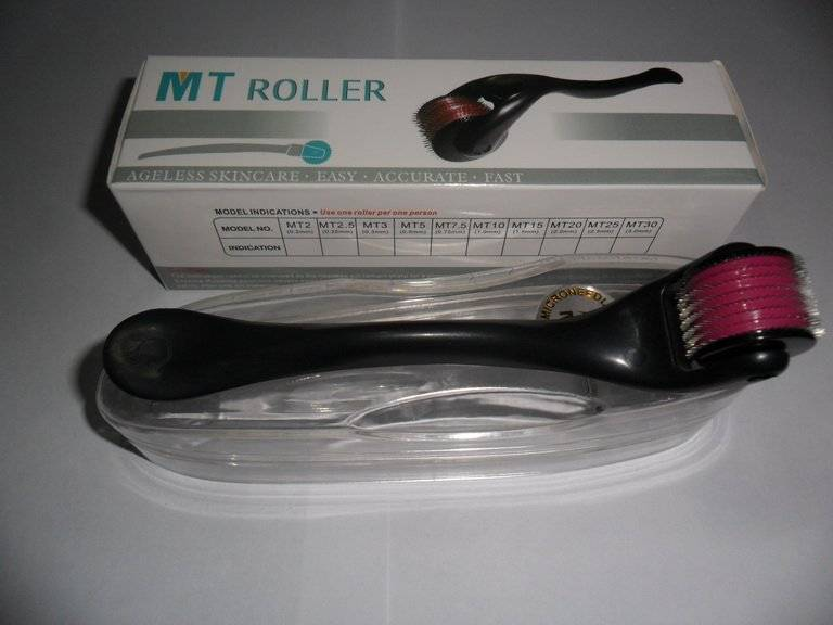 new design but competitive price stainless steel microneedle derma rolling system