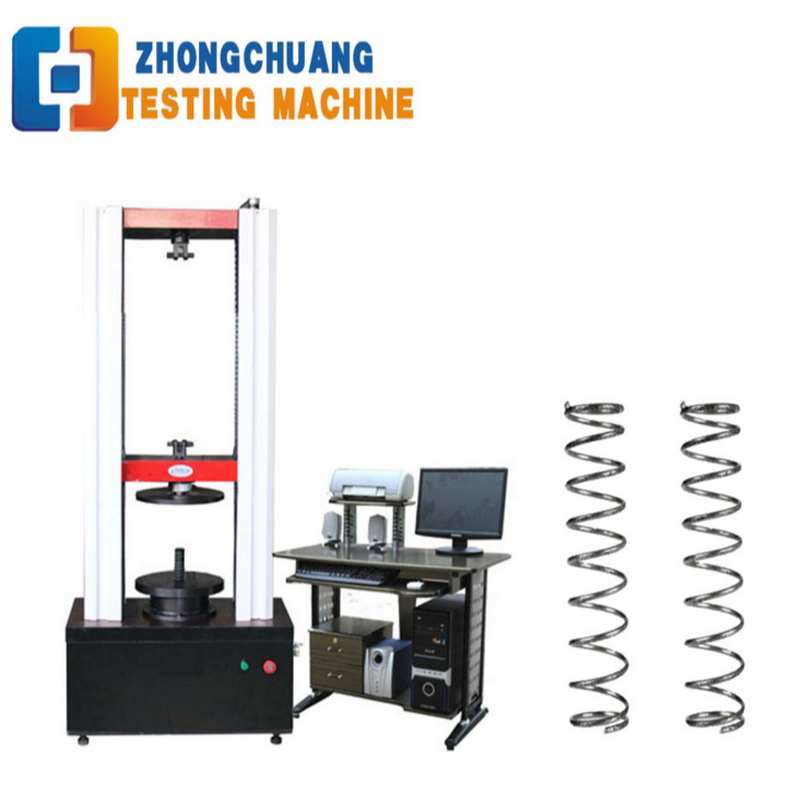 Automatic Computerized Spring Tension and Compression Testing Machine 100KN Tester Price