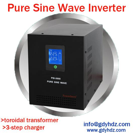 5000VA 48V Pure Sine Wave Inverter UPS with Wide AVR Range LCD Display