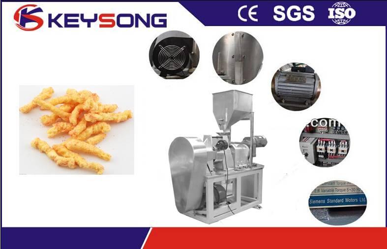 Fried Corn Snacks/Kurkure Processing Machinery