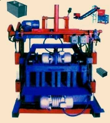 JL4-35 semi automatic brick making machine