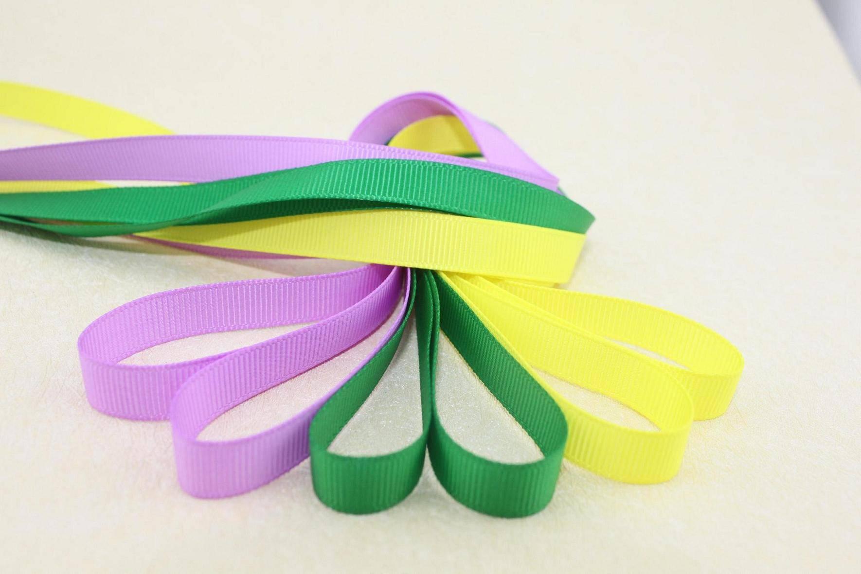 grosgrain ribbon for hair accessories
