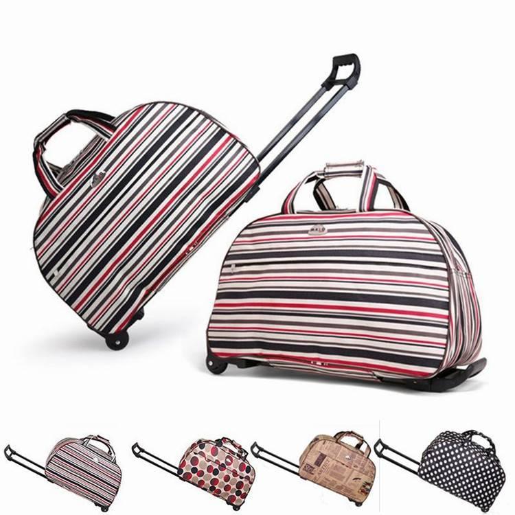 Bw1-063 Custom Size Elegant Wheeled Storage Trolley Luggage Suitcase