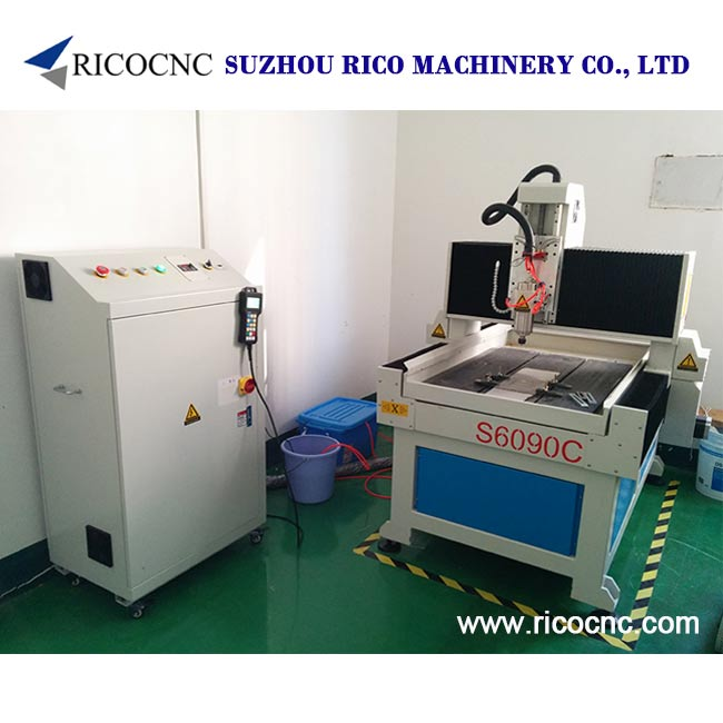 Hobby Stone CNC Router Small Marble Cutting Machine Tool S6090C