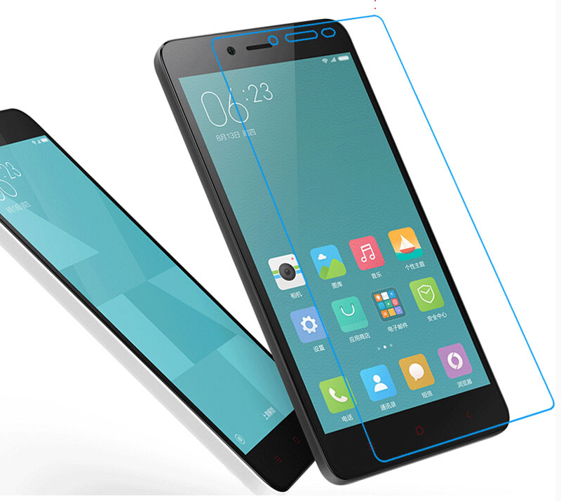 Factory price 2.5D 0.3mm 9H Premium Tempered Glass for Xiaomi Redmi 2 / Redmi Note 2 Note 3 / Mi3 /