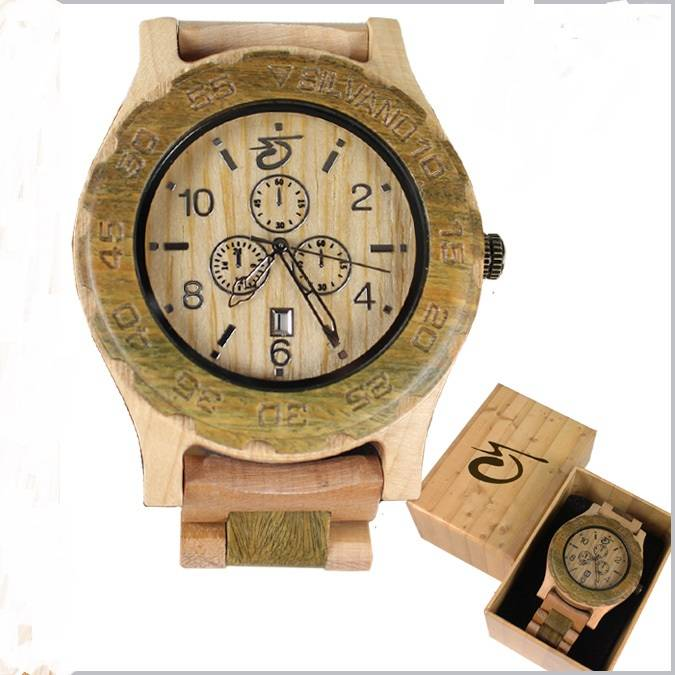 Natural Wooden Wrist Watches