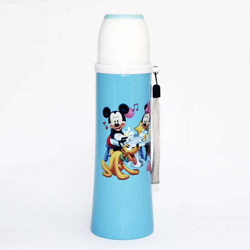 Stainless steel vacuum flask with lovely cartoon