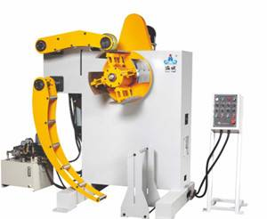 Heavy uncoiler  machine for sheet coil metal
