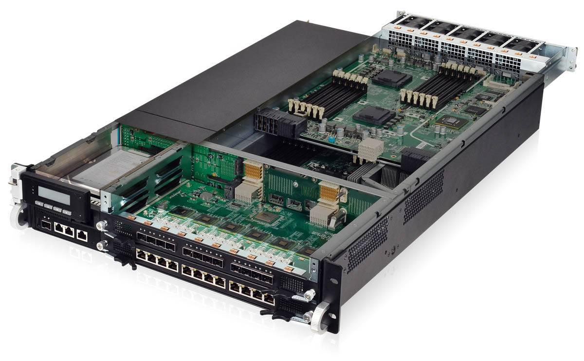 Dual mainboard network appliance