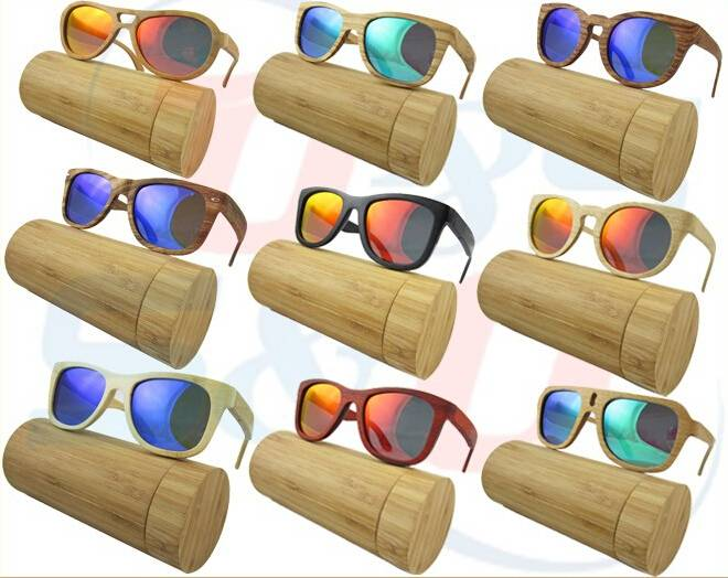 Fashion bamboo sunglasses men sunglasses wooden sunglasses dropshipping