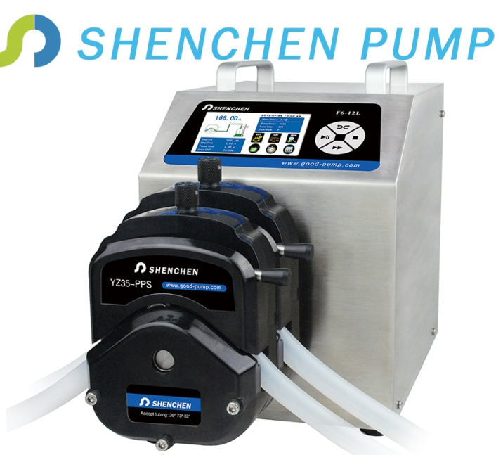 flow intelligent peristaltic dosing pump one channel flow range/304housing
