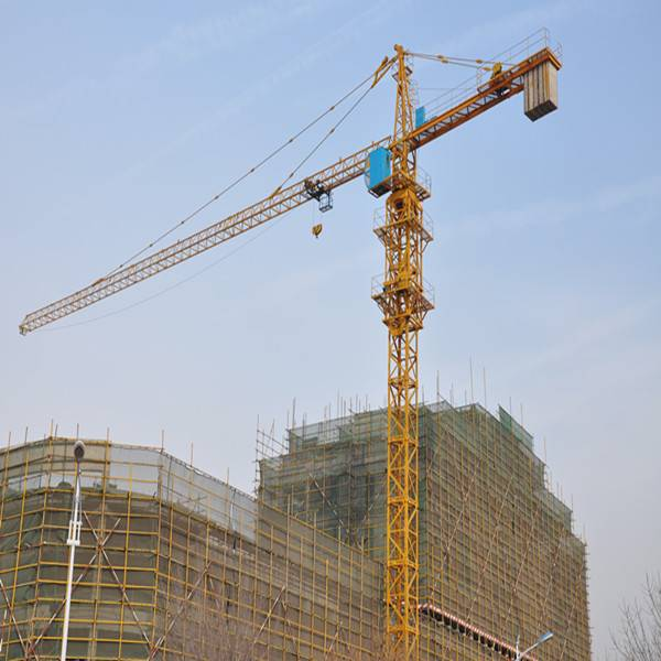 Best-selling 8ton tower crane from famous manufacuturer