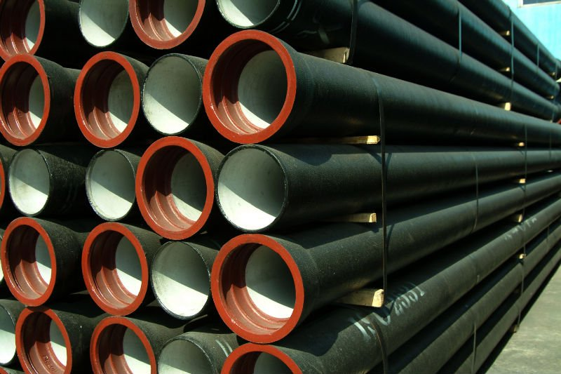 T-type joint ductile iron pipe