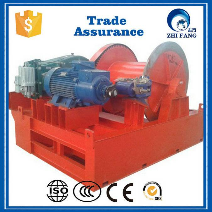 Workshop Crane Used Electric Winch with Wire Rope