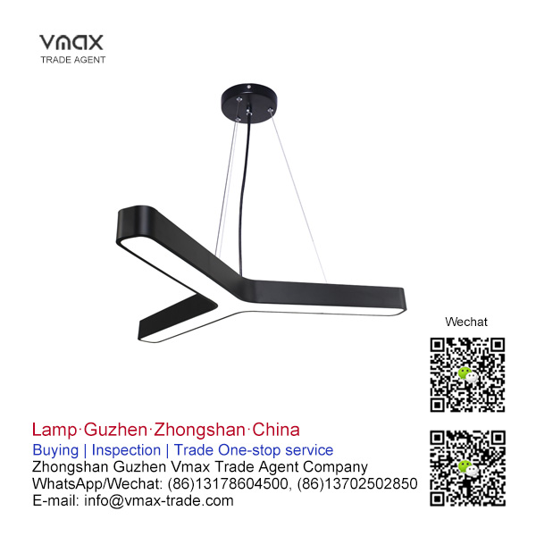 LED office pendant lamp buying agent in China, Guzhen   VMAX TRADE AGENT