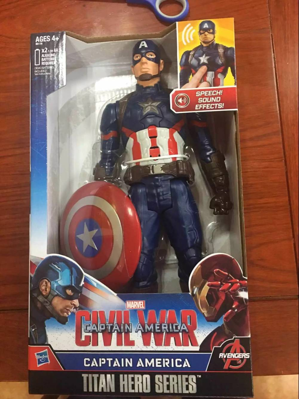 Customized action figure toys Captain America