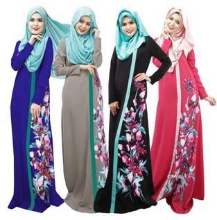 newest design muslim women kaftan dress