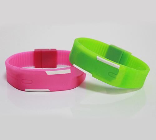 RFID silicone wristband tag(ZT-CT-160830-09)