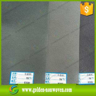 "Eco 80gsm polypropylene/pp spunbond non woven fabric for heat seal ""X"" sewing bags making"