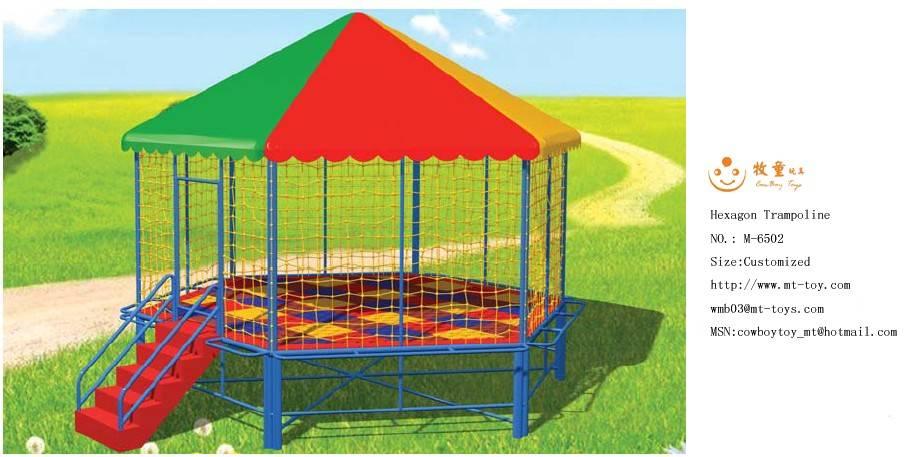Hexagon trampoline/M-6502