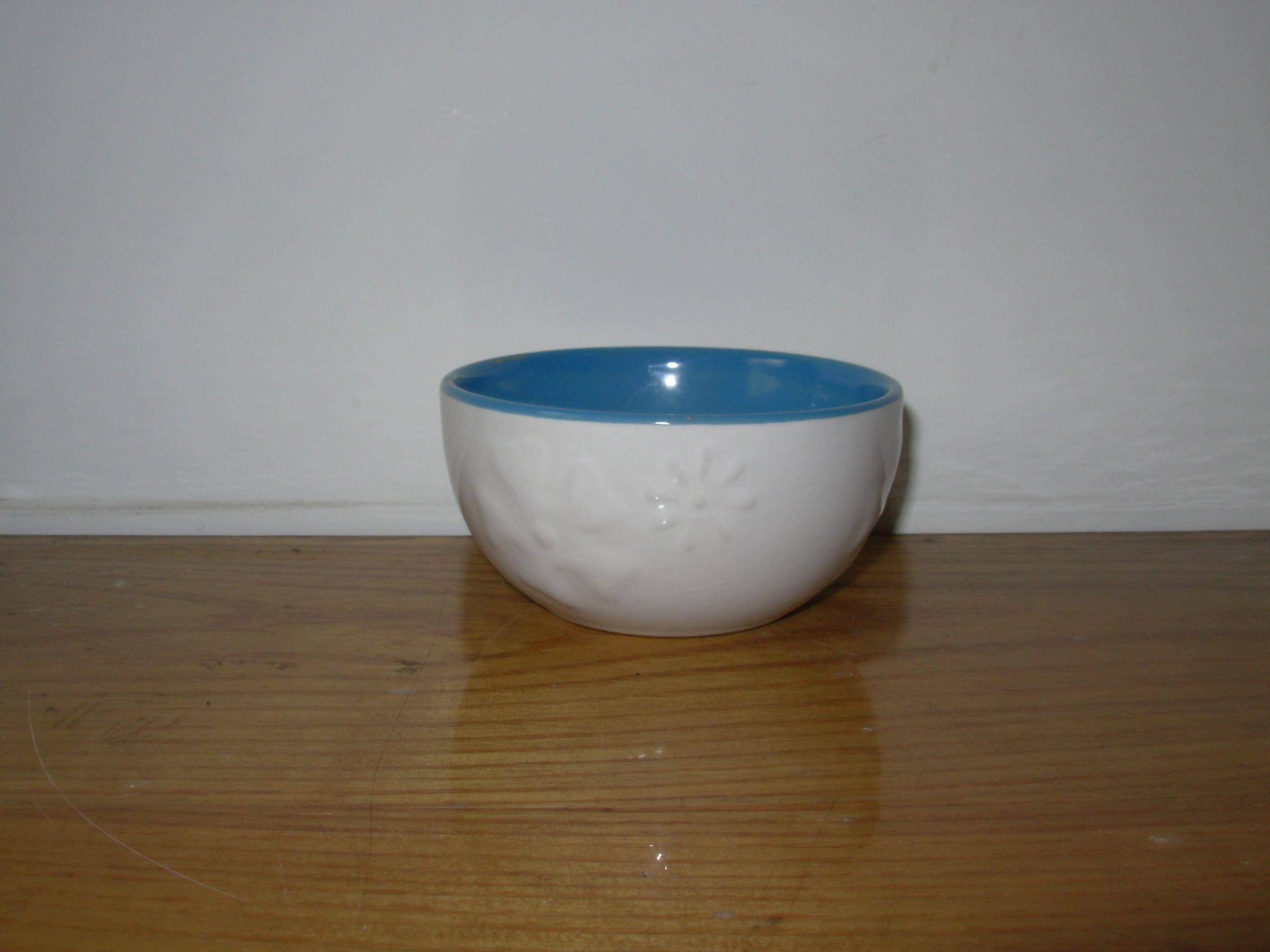 Ceramic football Bowl with Logo, Dishwasher, Microwave and Oven Safe