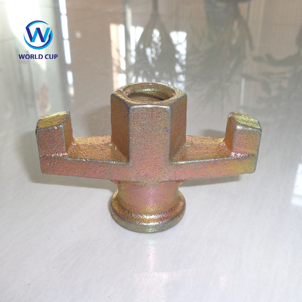 15mm-17mm 0.31kg Formwork Wing Nuts for sale