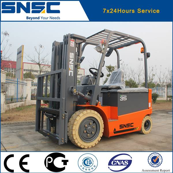 3.5 ton battery powered electric forklift