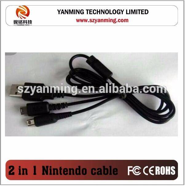 2 in 1 usb Charger Cable For Nintendo 3DS DSi NDSI XL MDSI