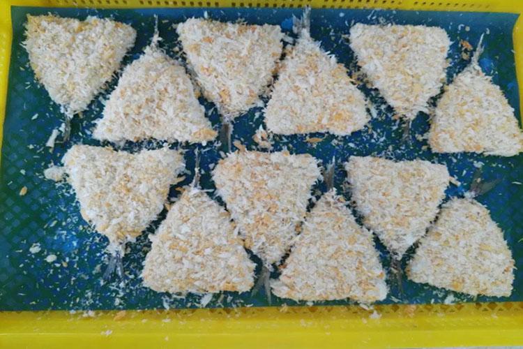 Hot sale frozen fish breaded horse mackerel fish fillet