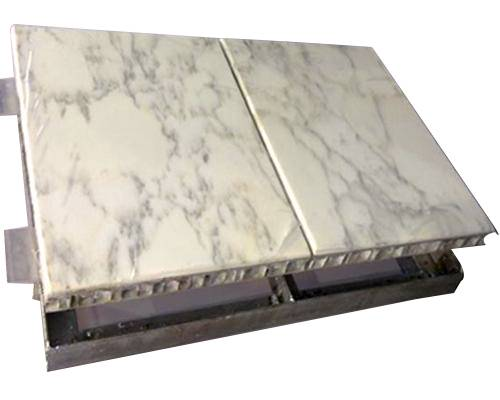 Aluminum Honeycomb Panel with Natural Stone