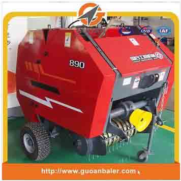 Maize straw trusser machine with Tractor mounted
