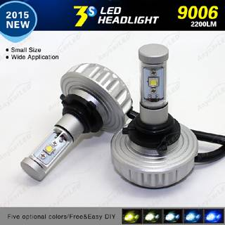 3S 40w 9006 2200 Lumen All in One LED Headlight Bulb Fanless System with CE Rosh 24V