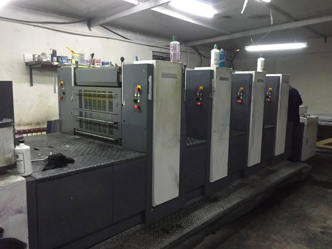 used Shinohara 66 IV Printing machine