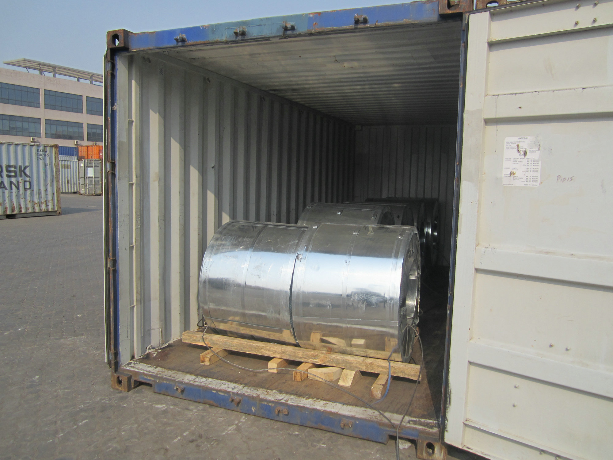 ASTM hot dipped galvanized steel coil