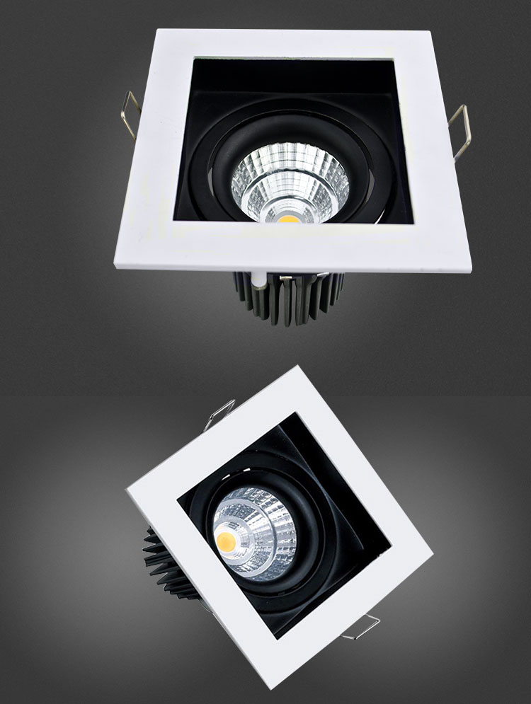 High Lumen 90Lm / W 3000K 4000K 6000K Color Temperature Power Taiwan Chip 5W LED Ceiling Lights