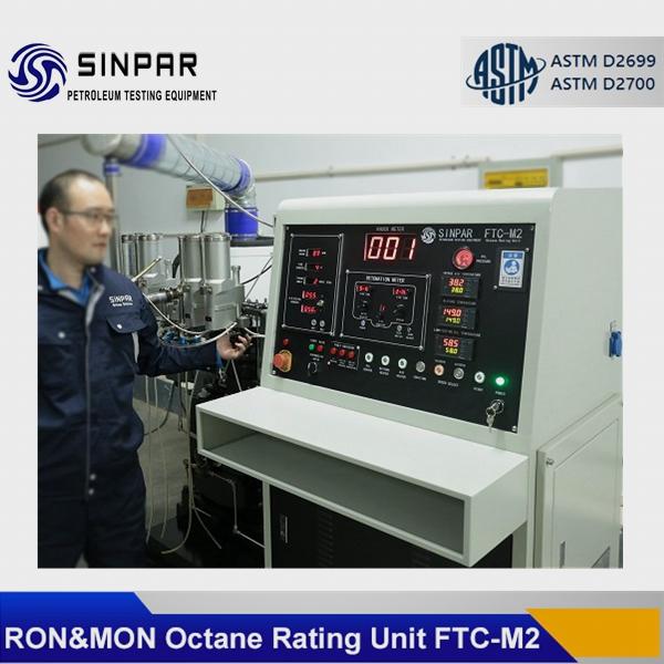 Octane number measuring instrument ASTM D2699/D2700