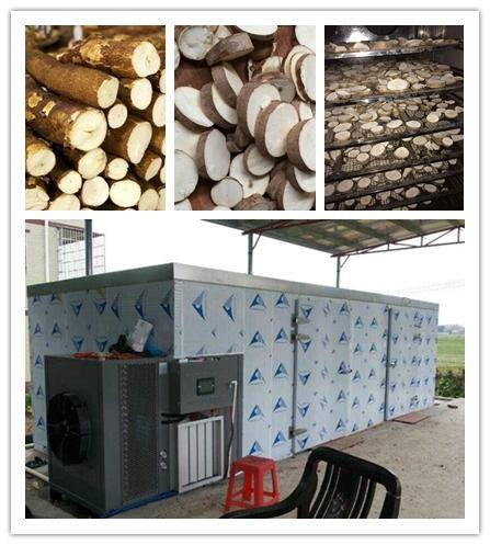 cassava dryer, heat pump technology, Automatic intelligent control industrial agriculture dehydrato