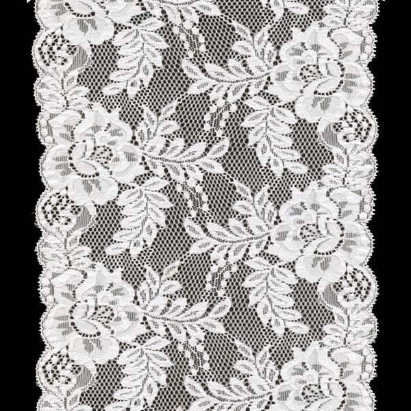stretch jacquardtronic lace trim