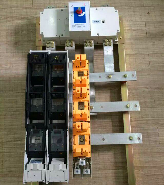 Vertical Type Fused Disconnect Switch Base/Rail