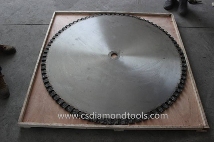 customizable granite/concrete blade 1200mm saw blade for granite