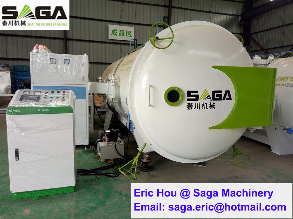 High Frequency Dehumidification Kiln for Wood Drying Timber Seasoning Vacuum Plant
