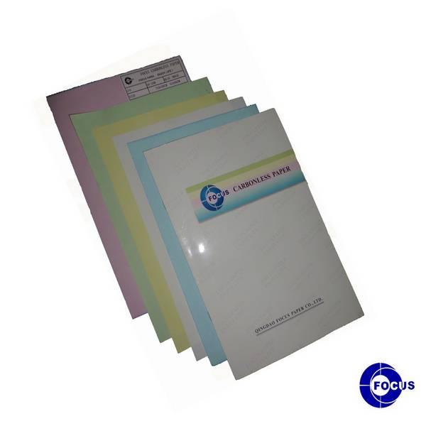 Blue Image Focus Carbonless Paper