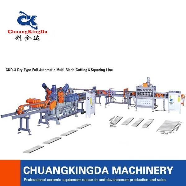 ckd 3 multi blade automatic ceramic tile cutting machine
